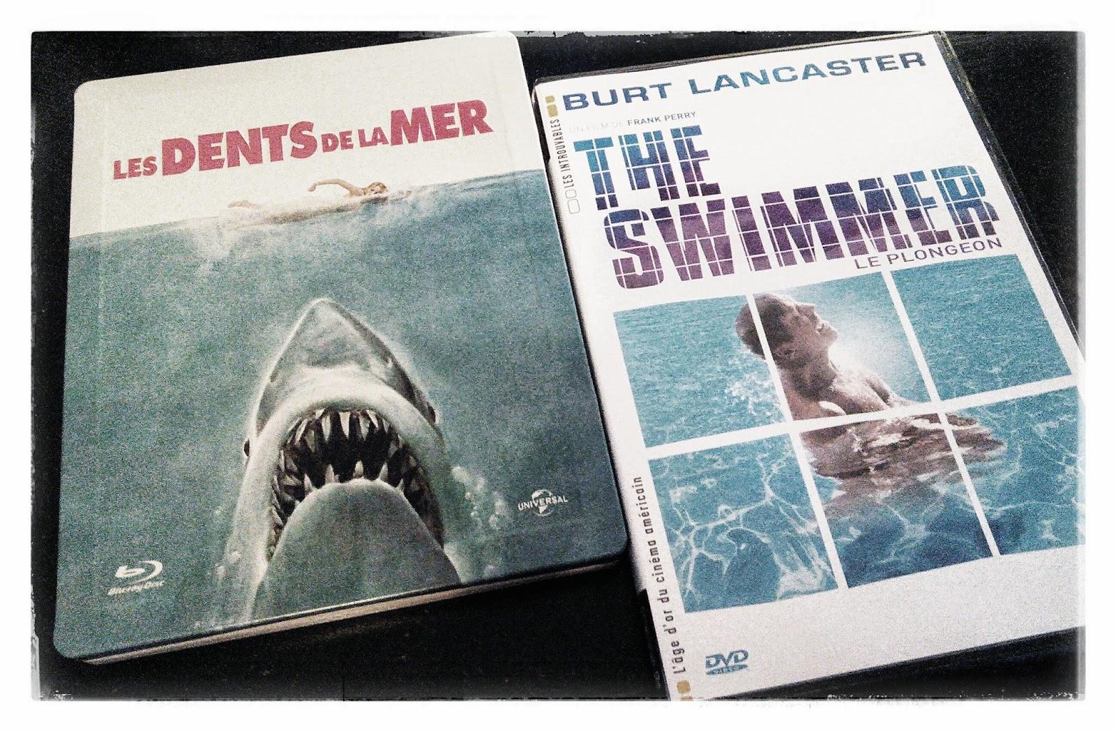 les dents de la mer blu ray the swimmer dvd
