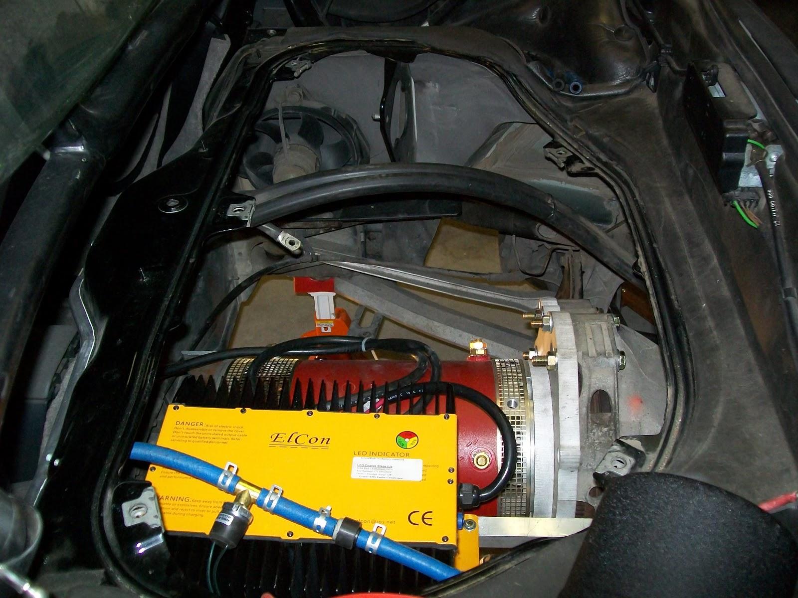 Porsche boxster electric conversion