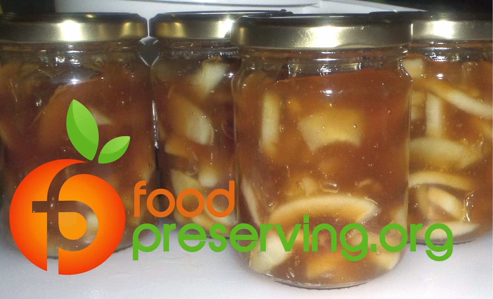FOOD PRESERVING Caramel Apple Pie Filling