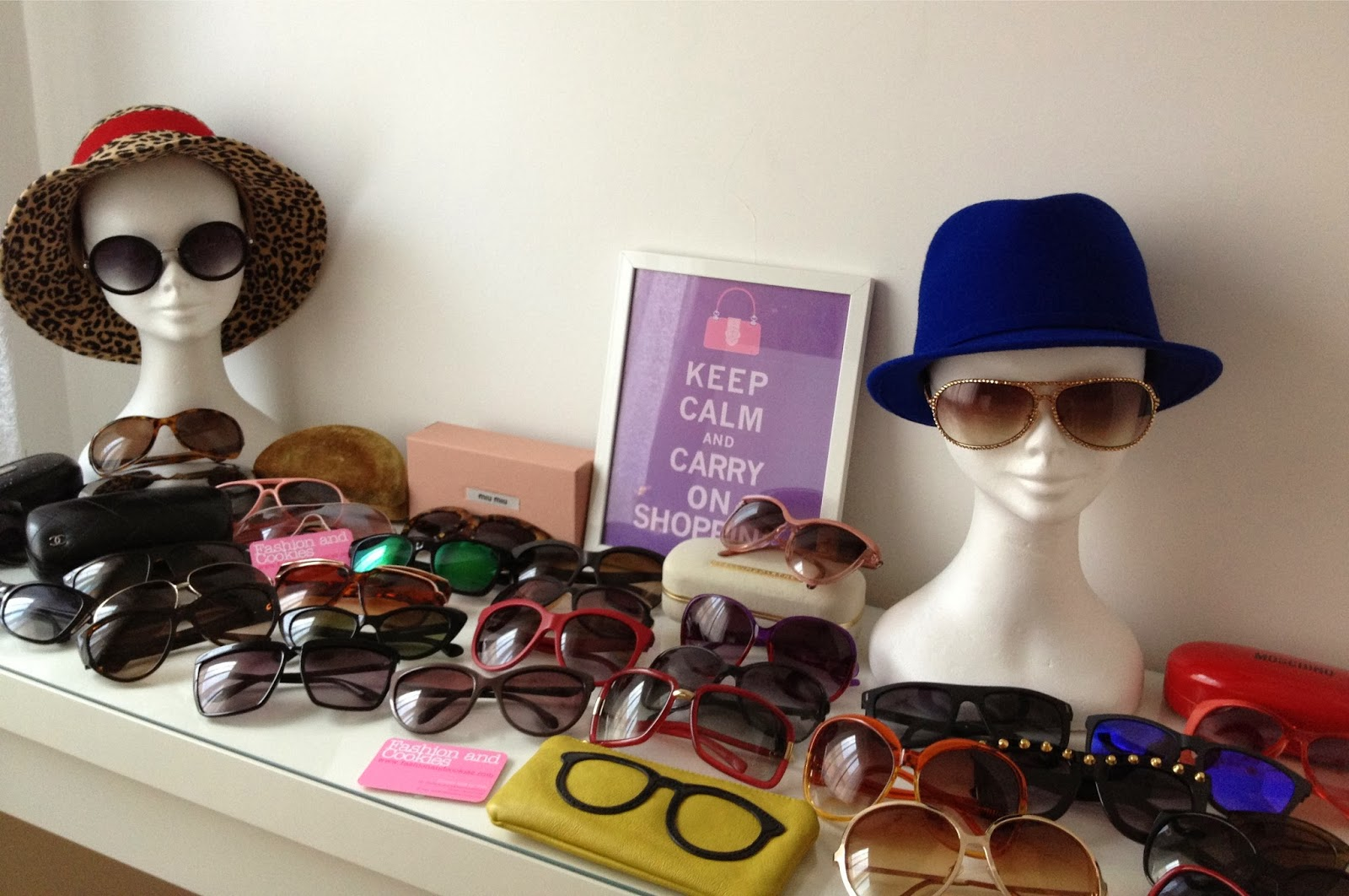 sunglasses collection, Fashion and Cookies, fashion blogger, #inmycloset