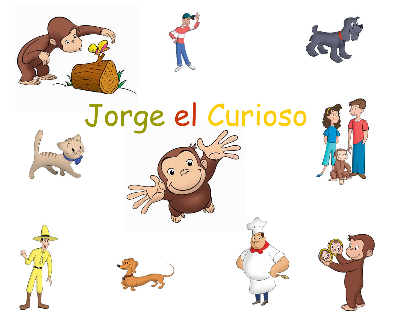 Pin Jorge El Curioso Youtube Hd Wallpapers on Pinterest