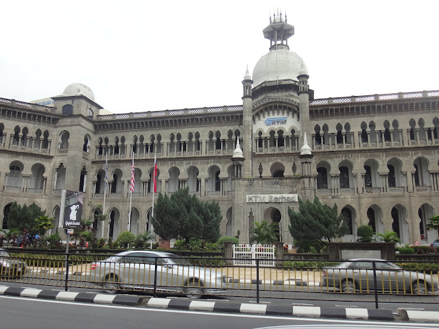 The historical landmark of Kuala Lumpur Railway Administration Building which can be seen in Jackie Chan's early movie, Supercop or Police Story III and the recent action movie, The Viral Factor in Malaysia