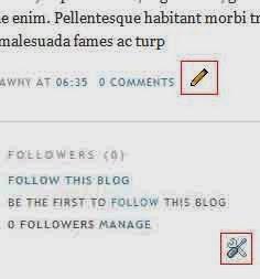 kunci inggris dan pensil blog