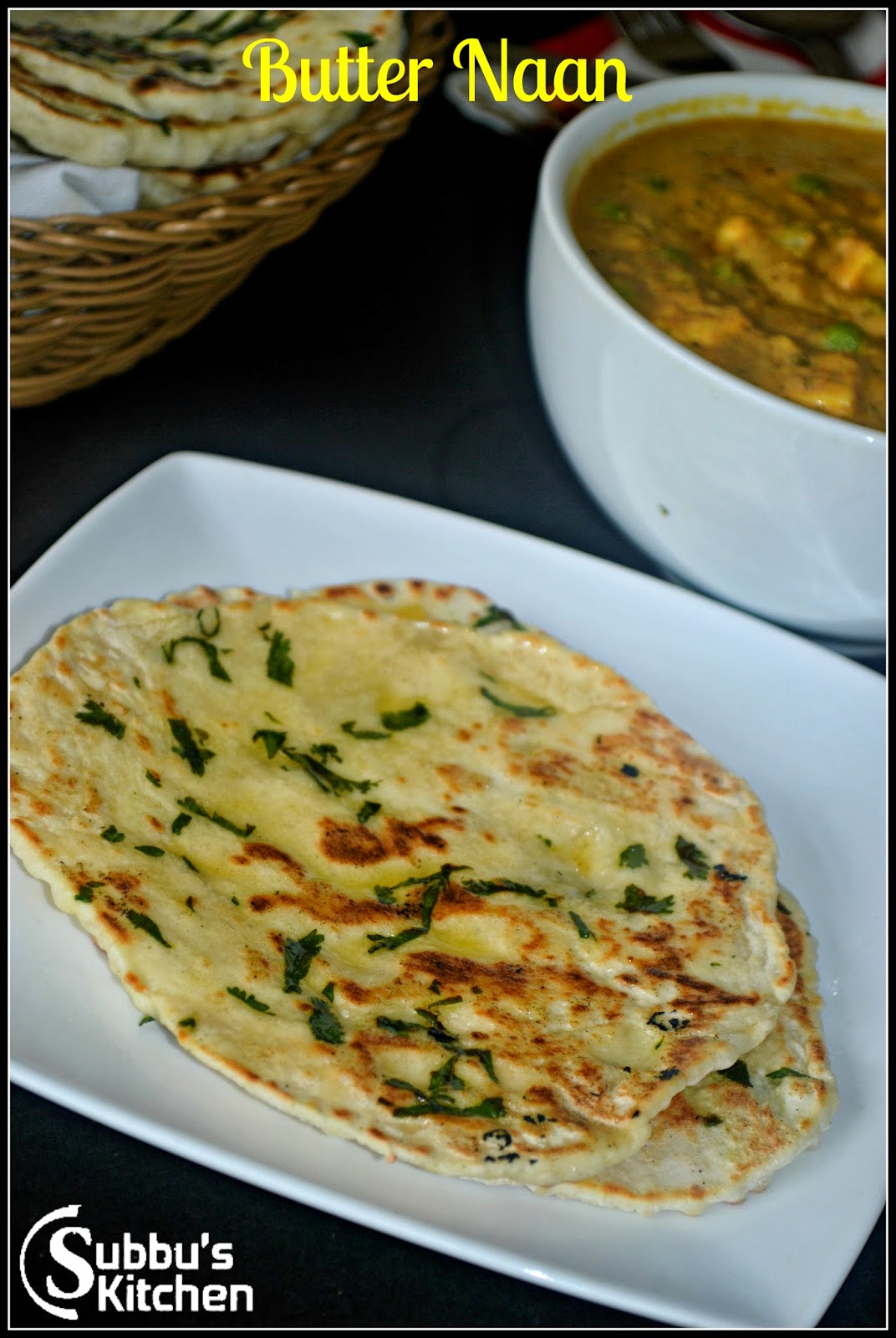 Butter Naan Hebbar S Kitchen