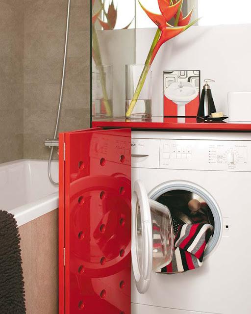 Как установить стиральную машину и сэкономить место в ванной
