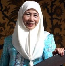 Presiden KEADILAN, Datuk Seri Dr Wan Azizah Wan Ismail