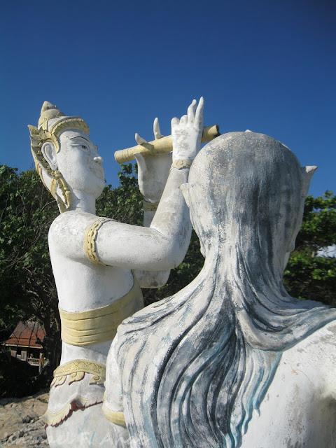 Statues at Koh Samet Island