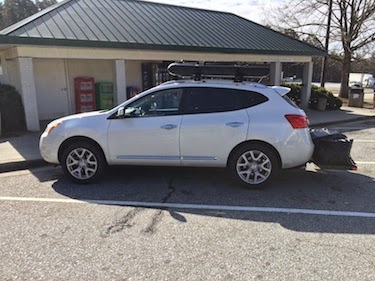 Chuck and Lori's Travel Blog - Nissan Rogue, Decked Out For Road Trip