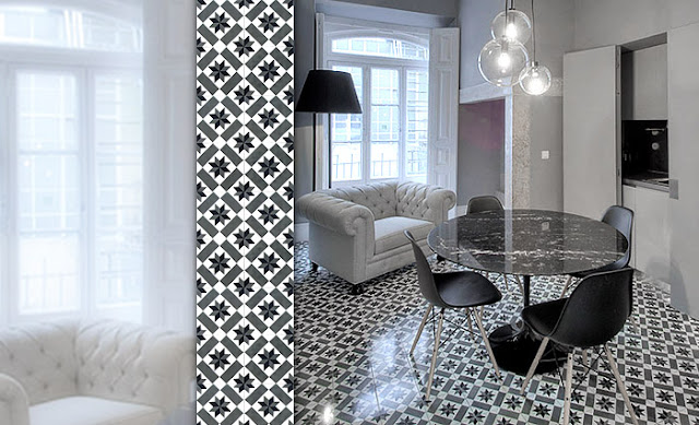 flaming design mosaic del sur. Black Bedroom Furniture Sets. Home Design Ideas