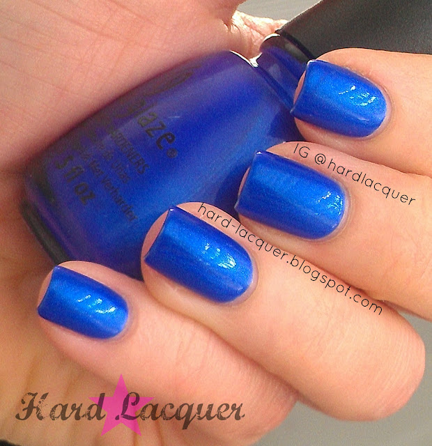 royal blue shimmer