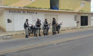 Policiais do 9° BPM em parceria com o Bope de CG realizam uma mega operação em Nova Floresta
