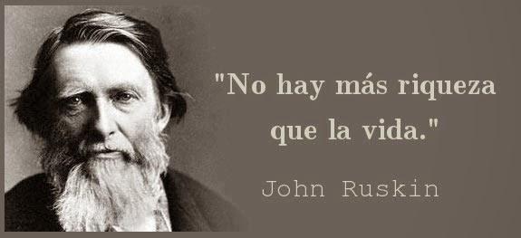 frases de John Ruskin