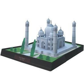 Taj Mahal Papercraft Model, India