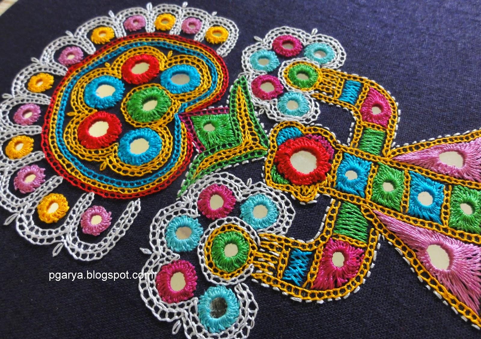 gujarat embroidery motifs
