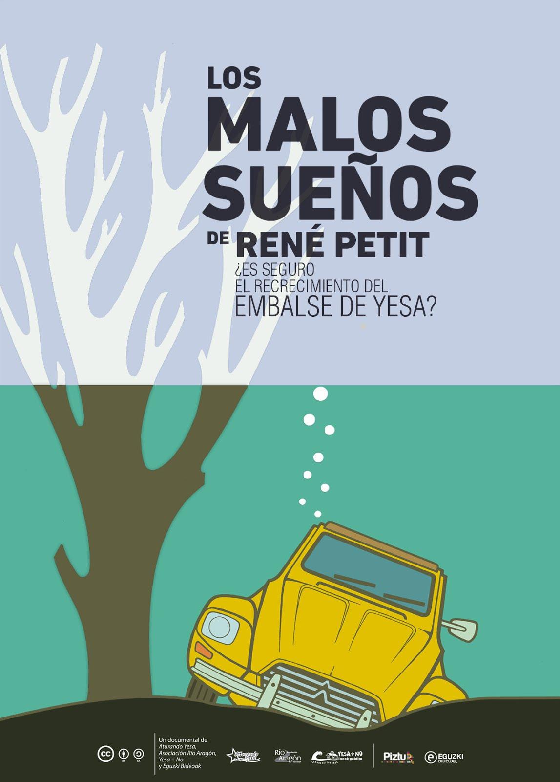 Los Malos Sueños de René Petit. La web.