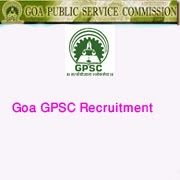 Goa GPSC Recruitment for 2014