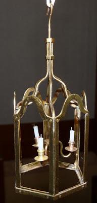 Lanterne,Laiton,Miniature,Soudure