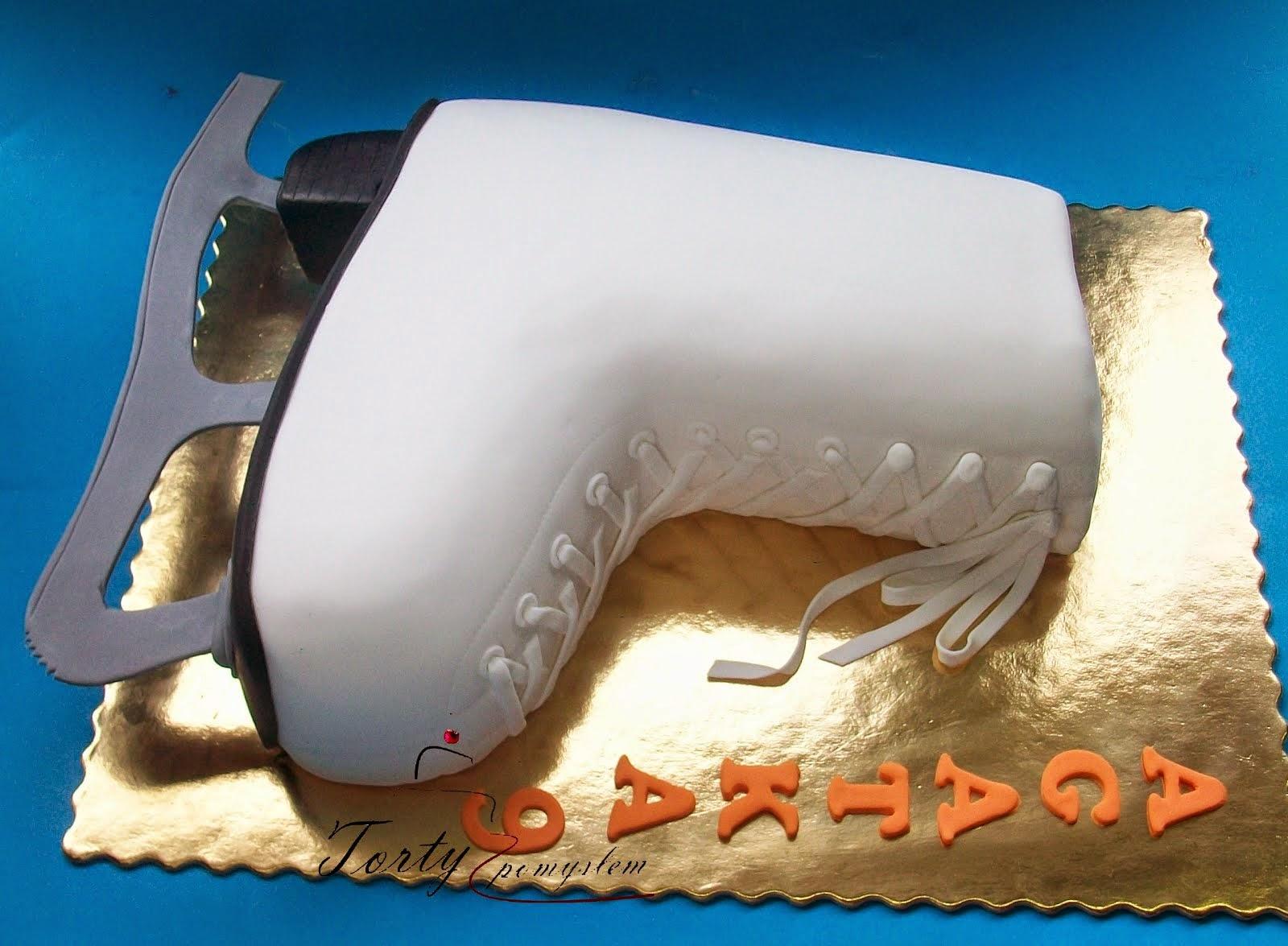 tort łyżwa