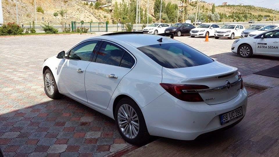 Opel Insignia Testi Resimleri