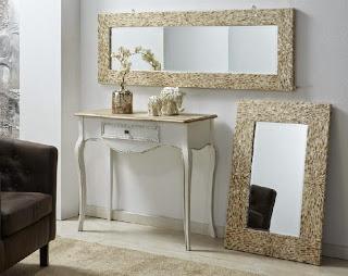 Espejos decoracion madre perla