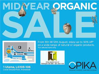 Opika Mid Year Organic Sale 2012