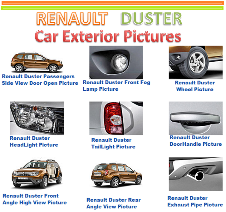 Renault Duster Specification Renault Duster Price in India