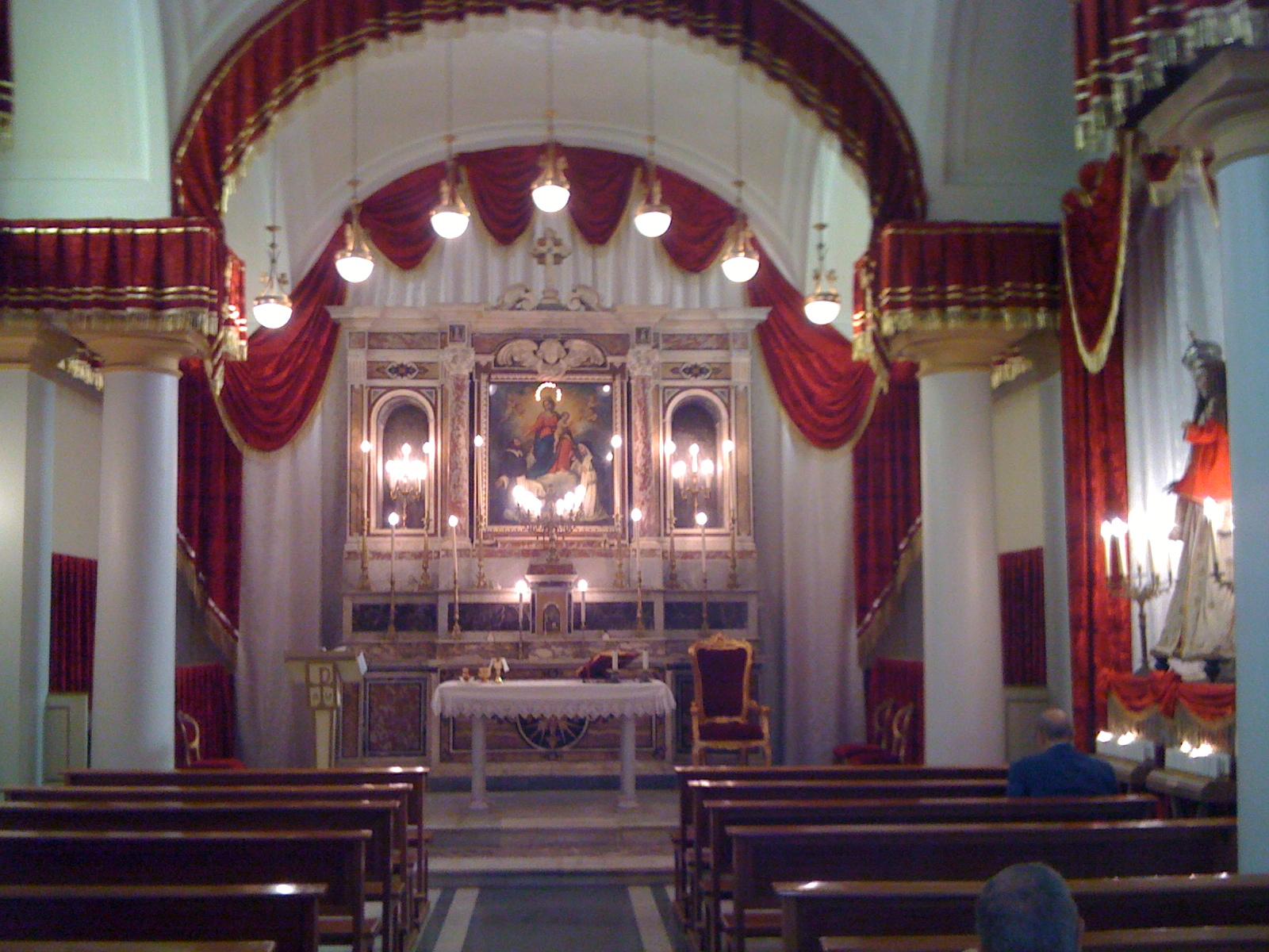 Risultati immagini per Cappella del SS. Rosario al Vomero