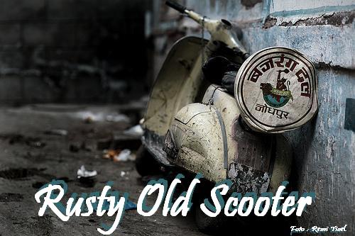 Rusty Old Scooter
