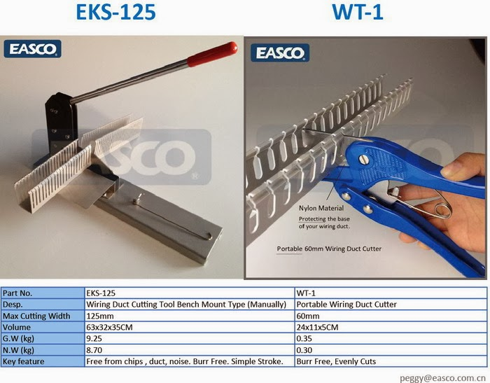 easco wiring accessories easco wiring duct cutting tools a single rh eascoproduct blogspot com rennsteig wiring duct cutter panduit wire duct cutter