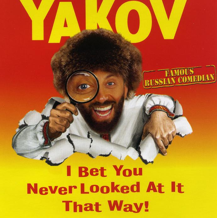 vintage stand-up comedy  yakov smirnoff