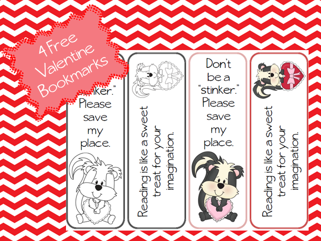 https://www.teacherspayteachers.com/Product/Valeninte-Bookmark-Sampler-541852