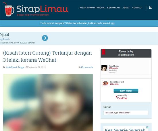 SirapLimau.com Bacaan Untuk Dewasa 18sx