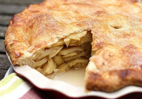 The Galley Gourmet: Deep Dish Apple Pie