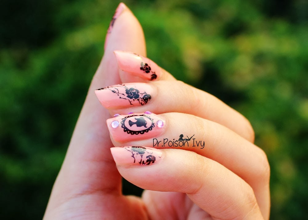 DrPoison Ivys Beauty Blog The French Attack NOTD