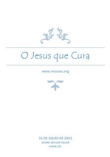 Sidinei Buhler Kauer - O Jesus que Cura (eBook)