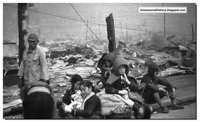 Tokyo homeless U.S. bombing March 10, 1945.