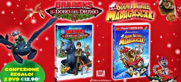 Buon Natale Madagascar.Promo Risparmio In Edicola Cofanetto Dvd Per I Vostri Bambini