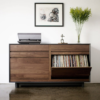 LP record cabinet