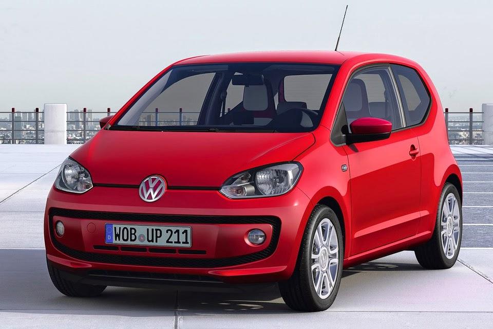 Volkswagen Up 2014 preço fotos modelo europeu