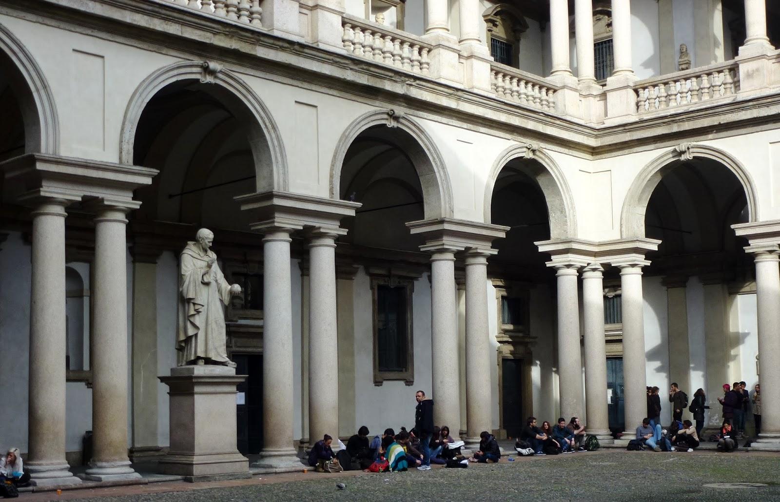 Viaggiaconalma accademia di belle arti di brera for Accademia di milano