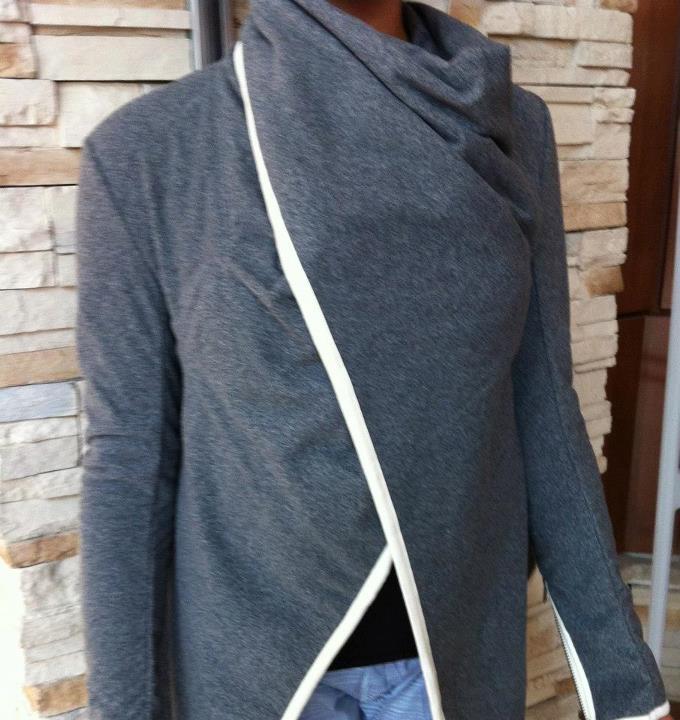 Gray Anorak Jacket