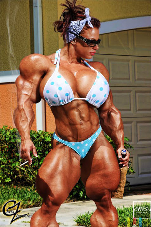Danielle Gardner Female Muscle Bodybuilding Blog