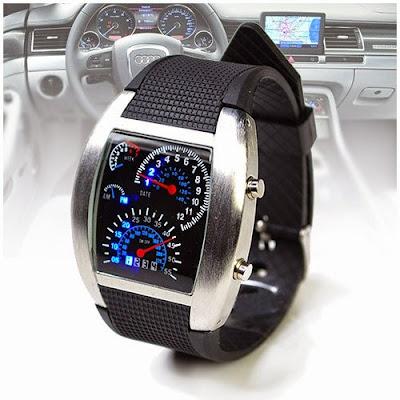 Reloj LED salpicadero coche