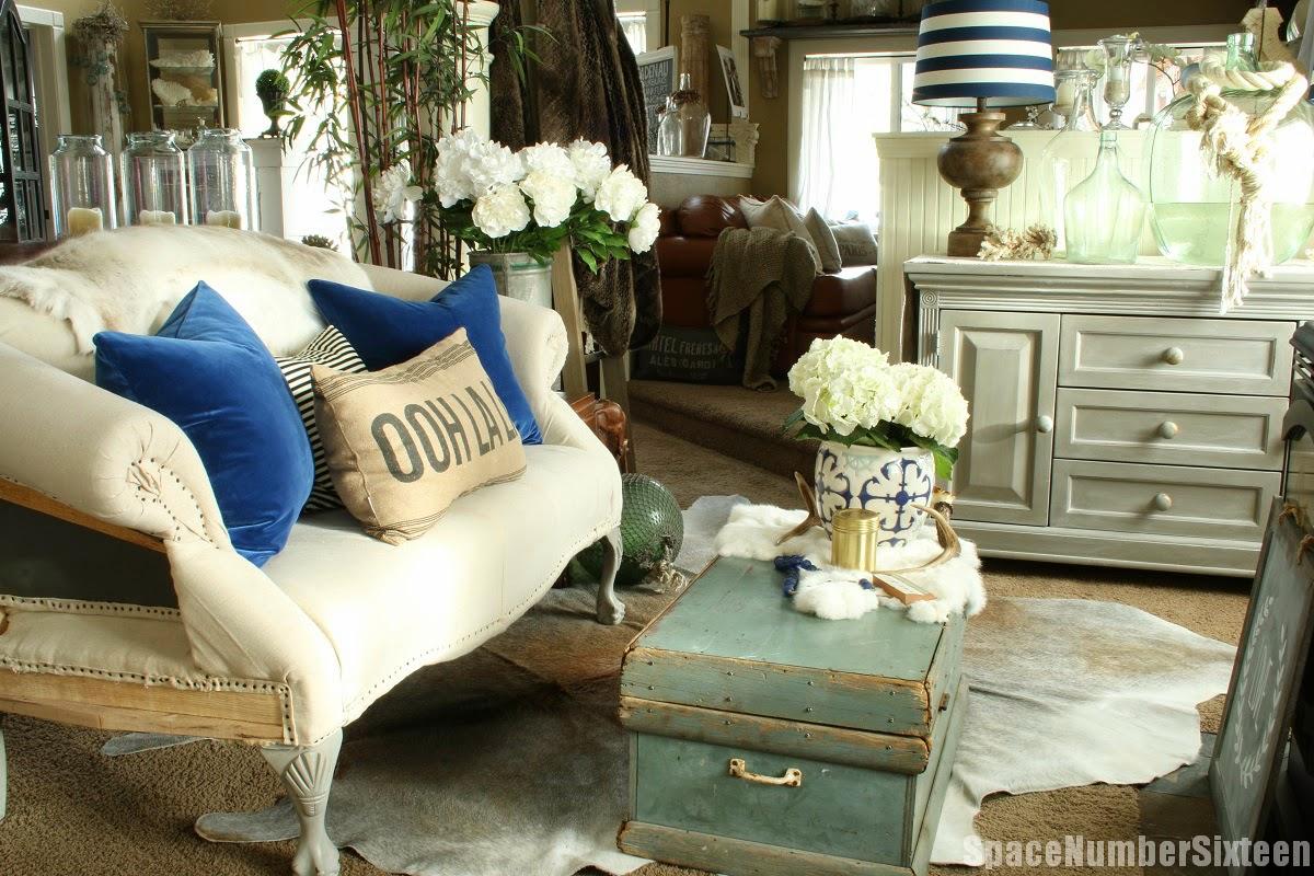 velvet pillows, tool chest