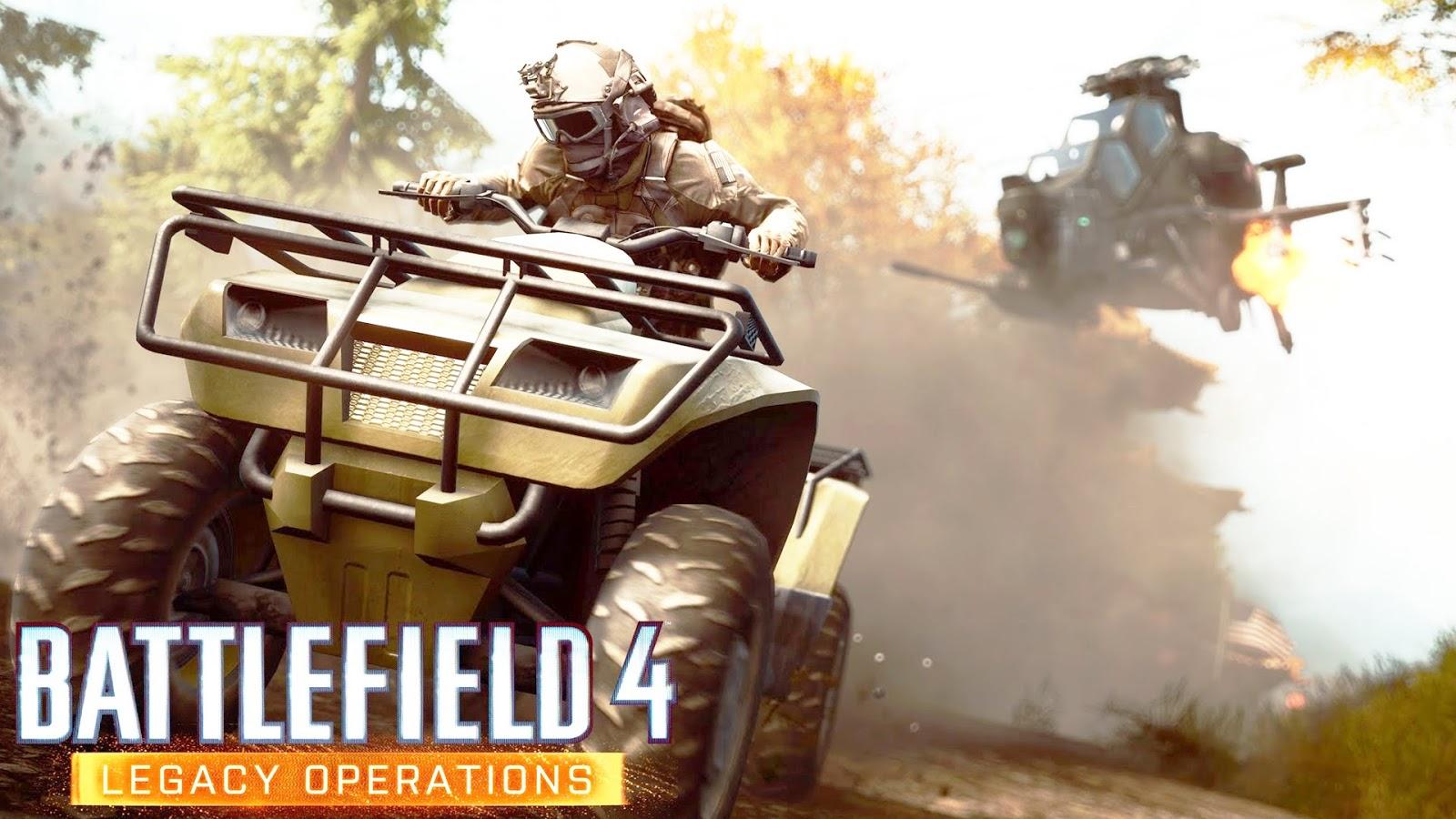 DLC Legacy Operations para Battlefield 4 já está disponível