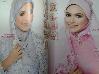 Me featuring in Pesona Pengantin Mag for March 2012