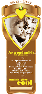 ARWENDANISH 1ST GIVEAWAY