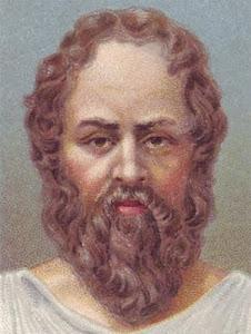 Sócrates, filósofo griego: