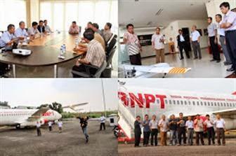 Demi Terbang Pesawat Droid UAV LAPAN di BNPT
