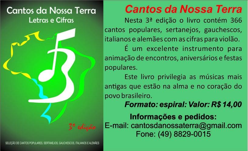 CANTOS DA NOSSA TERRA